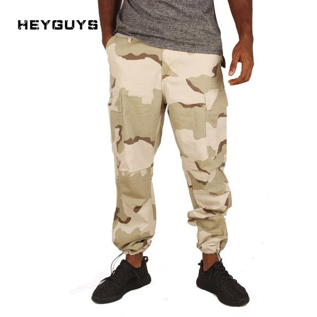 Heyguys novo camo calças dos homens homens de corpo inteiro das mulheres dos homens de hiphop 2017 calças plus size calças sweatpants corredores de rua