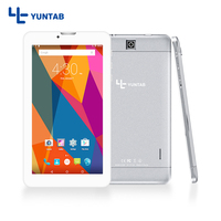 YUNTAB 7inch E706 Silver Alloy Android Tablet PC Quad Core 1GB 8GB Touch Screen 1024x600 Dual