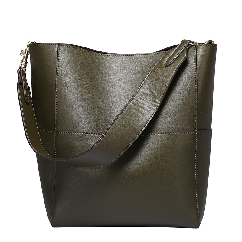 Hobo Bags for Women, Leather Tote Purses and Handbags Work Bucket Bag 1