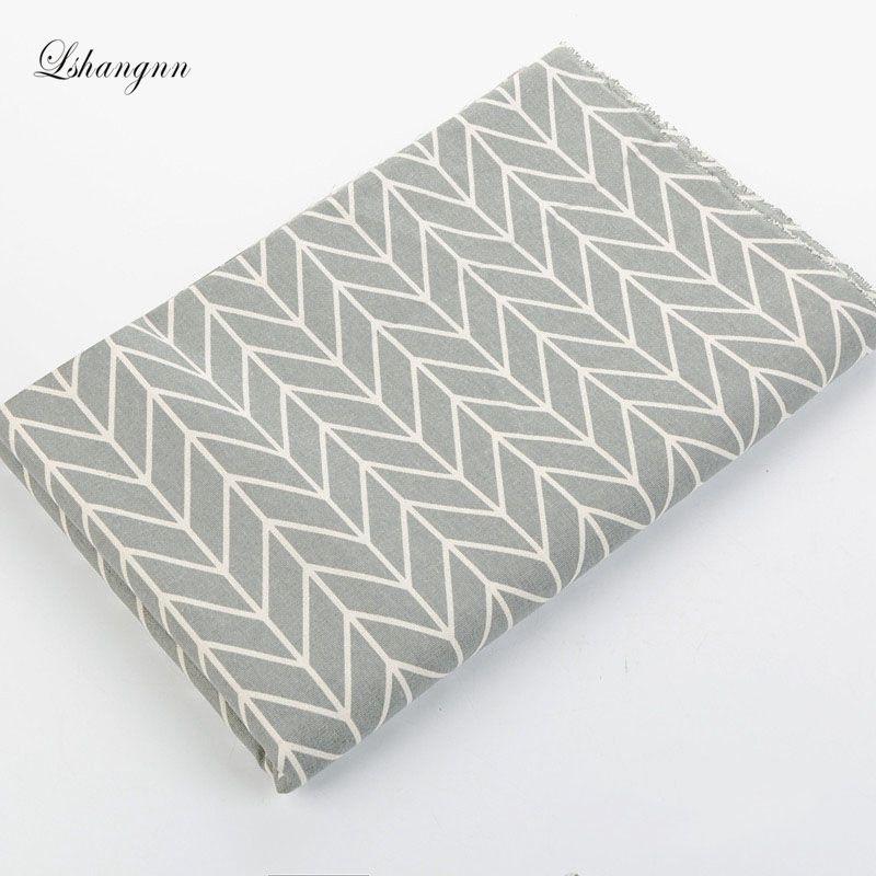 NEW 50 * 150cm Serie geometrică tipărită Cusut tapițerie Bumbac - Arte, meșteșuguri și cusut