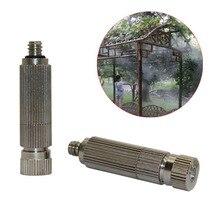 """50 ชิ้น 3/16 """"ด้ายด้านนอก 20 90 บาร์ความดันหัวฉีดสวนเกษตร Cooling ชุ่มชื้น Sprinklers Fogging sprayers"""