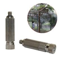 """50 adet 3/16 """"Dış Konu 20 90 Bar Yüksek Basınçlı Misting Memeleri Bahçe Tarım Soğutma Nemlendirici Sprinkler Sisleme püskürtücüler"""