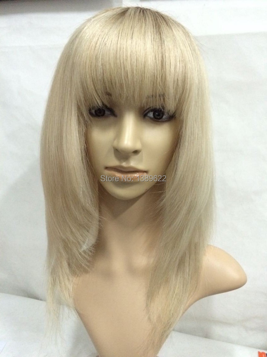 2016 Limited Real Blonde Human Hair Wigs Long Brazilian