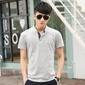Summer 2016 spring and summer burst models of trade men's short-sleeved polo shirt tide Korean men's fashion male polo clothing