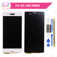 For Sony Xperia Z3 LCD Display Digitizer Touch Screen Assembly Parts D6603 D6633 D6653 L55T