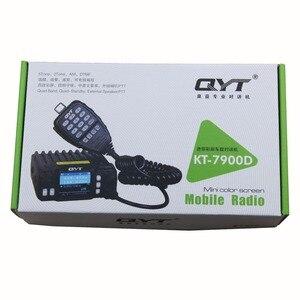 Image 5 - QYT Đài Radio Mini KT 7900D 25W 4 Băng Tần 136 174/220 260/350 390/400 480MHZ KT7900D Woki toki