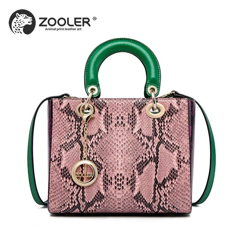 db658030db Comprar ZOOLER Mulher sacos de 2018 saco bolsa de moda bolsas bolsa de couro  genuíno projetado marca de luxo bolsa de ombro bolsa feminina   S131 Baratas  ...