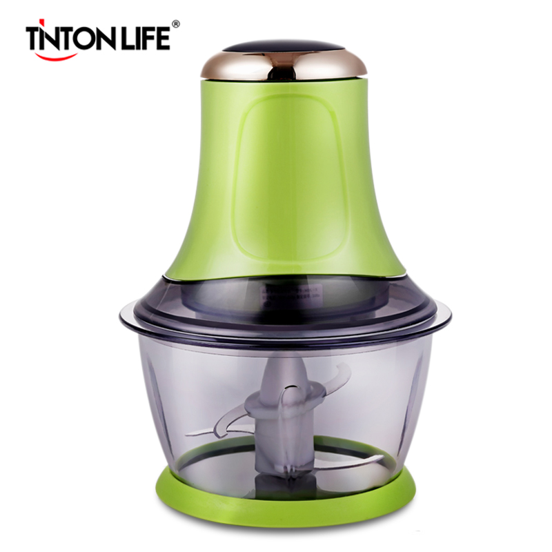 TintonLife Electric Automatic Meat Grinder Household Mincer household appliances electric meat grinder stainless steel meat grinder fully automatic broken vegetables ground meat
