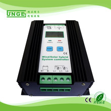 500w - 1200w Wind Solar hybrid charge controller Wind control solar control 12v/24v auto wind turbine wind generator charger,(China)