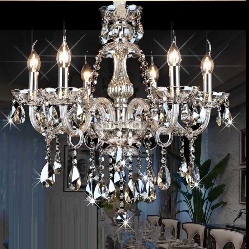 ջահ ՝ Crystal Modern Living Room lust sala de cristal modern - Ներքին լուսավորություն - Լուսանկար 4