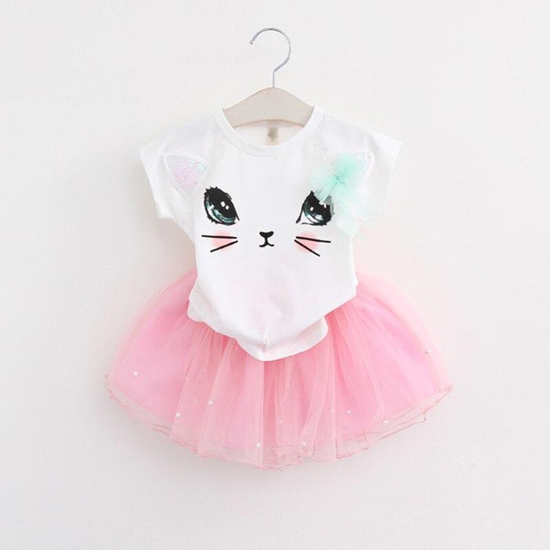 Menoea-2017-Summer-New-Baby-Girls-Clothing-Sets-Fashion-Style-Cartoon-Kitten-Printed-T-ShirtsNet-Veil-Dress-2Pcs-Girls-Clothes-4