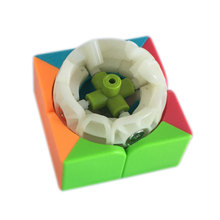 QiYi QiDi Magic Cube 2 Professional Magic Cube Competition Speed Puzzle Cube Toys Gifts For Children Stickerless Cubo Magico