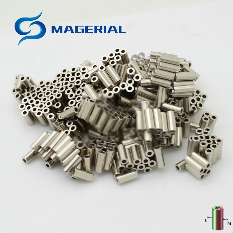 220 Degree Celsius NdFeB Magnet HMME28 Dia. 2.5x1.2x6.1 mm Diametrically Magnetized Strong Neodymium Dysprosium Permanent Magnet dysprosium metal 99 9% 5 grams 0 176 oz