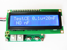 Free shipping LC200 Multi function capacitance inductance table LC small size digital display meter