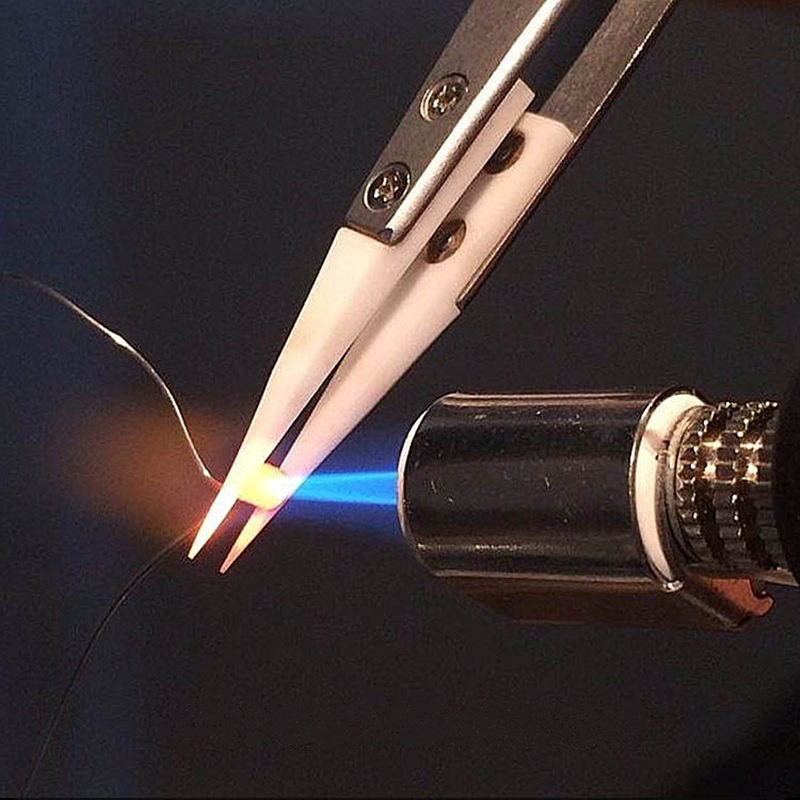 1 db antisztatikus kerámia csipesz Csipeszek Szigetelt rozsdamentes - Kézi szerszámok - Fénykép 4