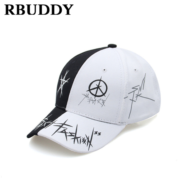 ba2c9199f1e RBUDDY 2018 Irregular Lines Baseball Caps Hip Pop Streetwear Snapback Summer  Trucker Dad Hat for Women