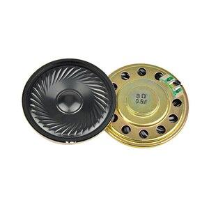 Image 2 - AIYIMA 10 個超薄型スピーカー 8 オーム 0.5 ワットホーンスピーカー 20 23 28 30 36 40 50 ミリメートルミニスピーカー Diy