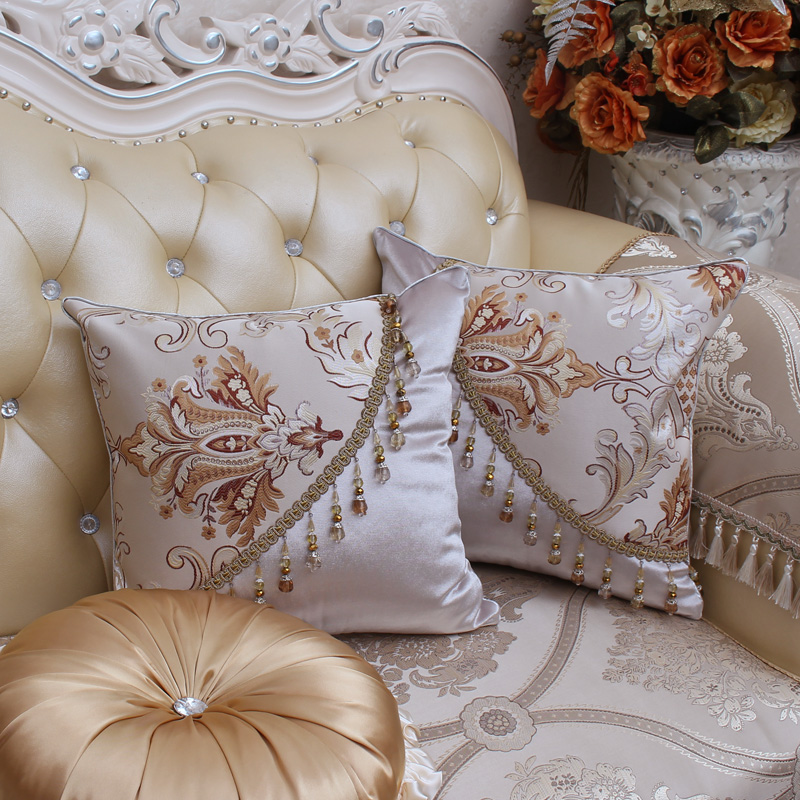 ROMORUS European Style Luxury Cushion Covers Jacquard Decorative Cushion  Cover For Sofa Throw Pillow Car Chair Decor Pillow Case In Cushion Cover  From Home ...