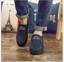 Winter Men's casual shoes cotton shoes old Beijing cloth shoes with velvet male han edition tide heat preservation cotton boots