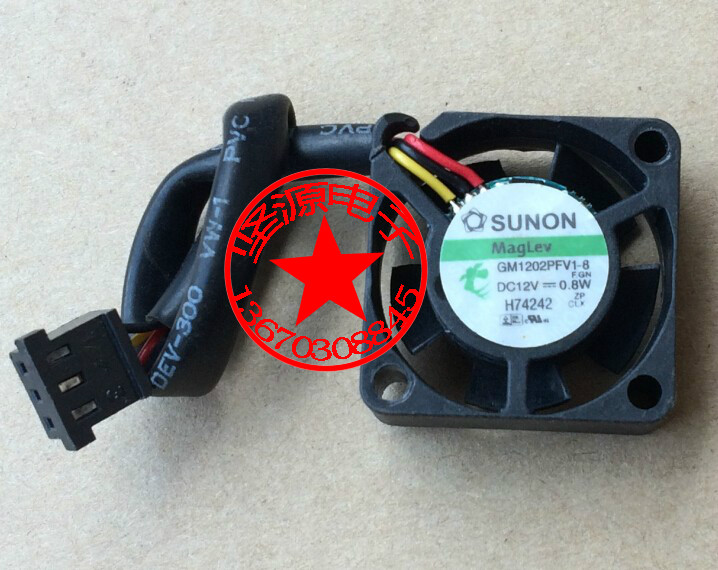 SUNON GM1202PFV1-8 F.GN Server Square Cooling Fan DC 12V 0.8W 25x25x10mm 3-wire кроссовки asics кроссовки gel venture 6 gs