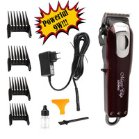 100 240V Kemei Professional Hair Clipper Electric Hair Trimmer Powerful Hair Shaving Machine Hair Cutting Beard