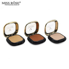 12 Styles Fashion Makeup Brand Miss Rose Contour Pressed Powder Palette Face Powder With Mirror Concealer Oil-control Cosmetics
