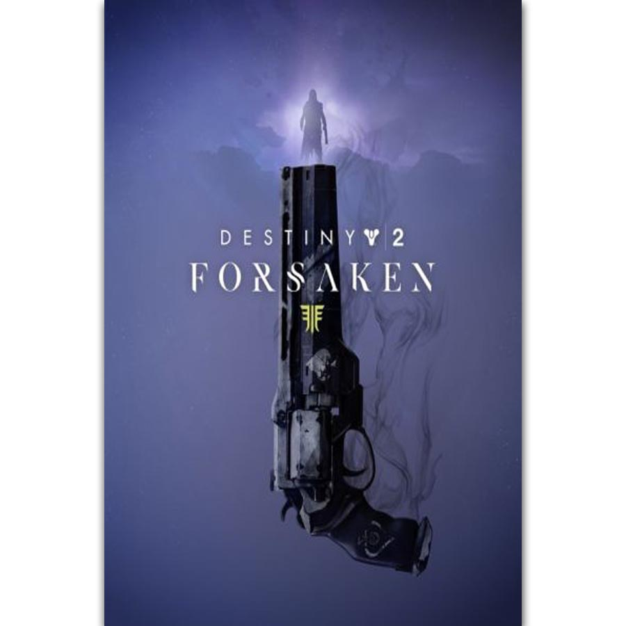 Fx688 Destiny 2 Forsaken 2018 Hot New Anime Video Game Cover New
