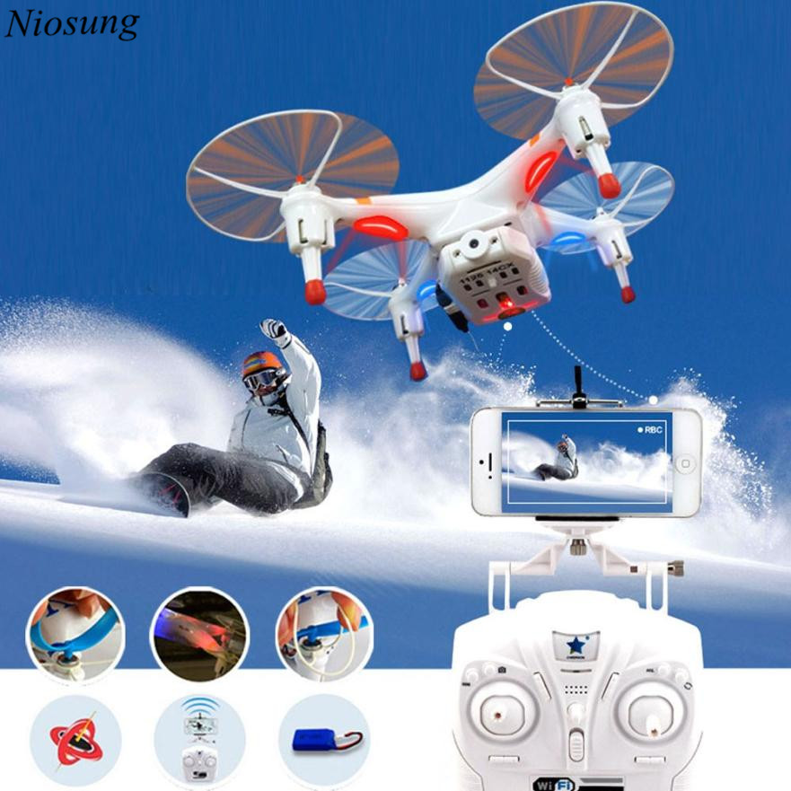 ФОТО Niosung New Cheerson CX-30w FPV Wifi G-sensor Control Quadcopter 4CH 6 Axis RC Drone with 0.3MP Camera