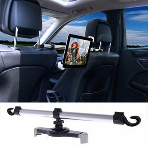 360 Degree Rotation Universal Aluminum Alloy Car Back Seat Mount Stand Holder For