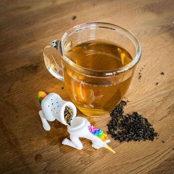 Diffuseur de thé en forme de licorne