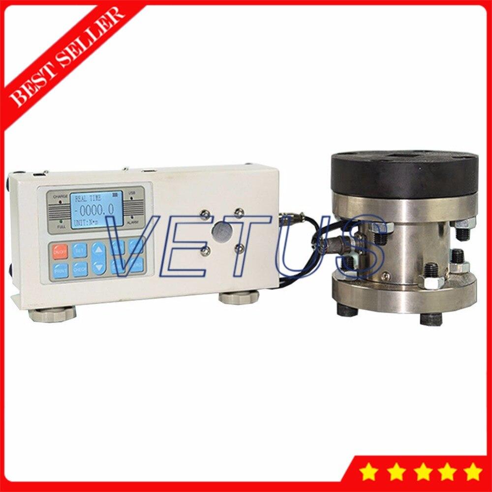 1000N. m Цифровой точный момент метр внешний Сенсор Torquemeter Torsion тестер Датчик без принтера ANL 1000
