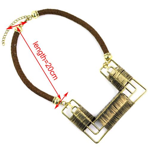 старинные цвет солист распространенности нагар colon Cole ожерелье для женщин спровоцировать вокруг ручной работы с SAP заявление ожерелье НЛ-1580
