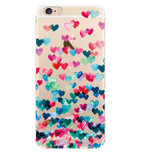Mobile Phone Soft TPU Cover Case For Iphone 6 6s X XS 7 8 Plus Ultra Thin Soft TPU Back Cases For iPhone 5s 5 SE Cover Conque
