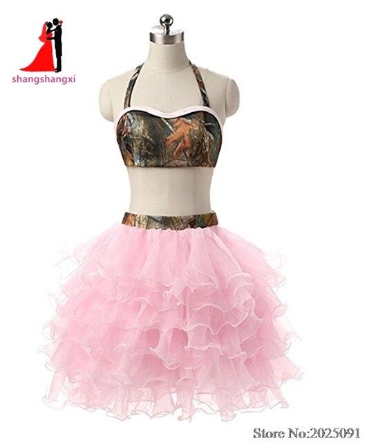 Pink Camo Prom Dresses Short – Fashion dresses