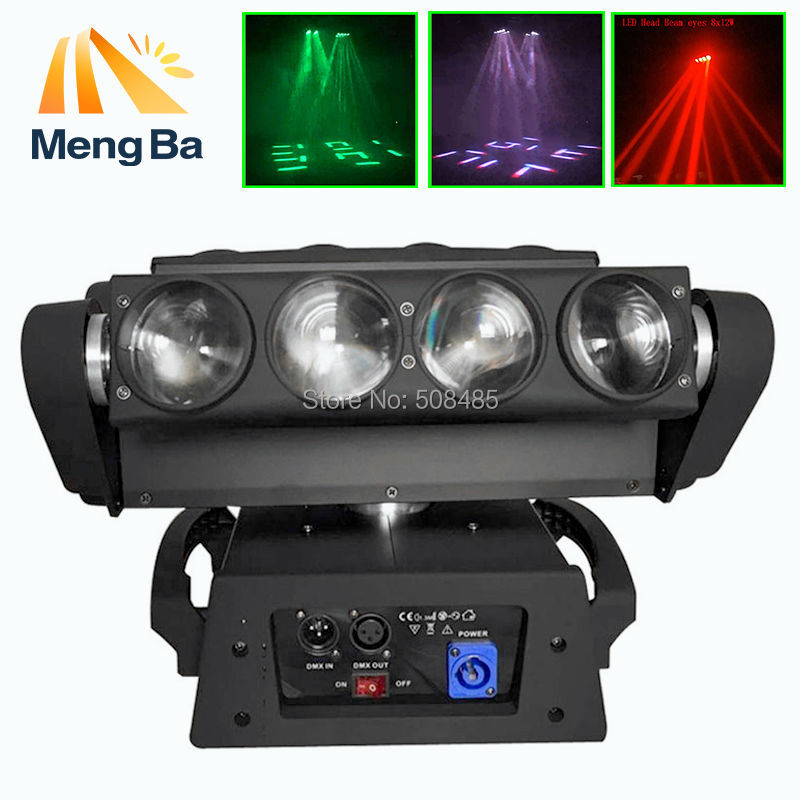 Fast Shipping 8x10W 4IN1 RGBW Led Spider Moving Head Beam Light DMX Led Spider Light Spider led DJ/Party/Wedding LightFast Shipping 8x10W 4IN1 RGBW Led Spider Moving Head Beam Light DMX Led Spider Light Spider led DJ/Party/Wedding Light