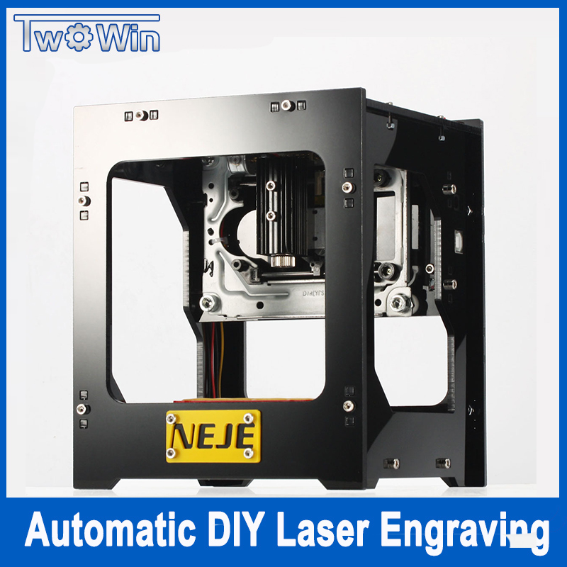 1500mW cnc crouter cnc laser cutter mini cnc engraving machine DIY Print laser engraver High Speed with Protective Glasses