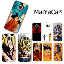 MaiYaCa Dragon Ball DragonBall z goku Nieuwe Collectie Mode telefoon case voor Samsung S3 S4 S5 S6 S6edge S6plus S7 S7edge S8 S8plus(China)