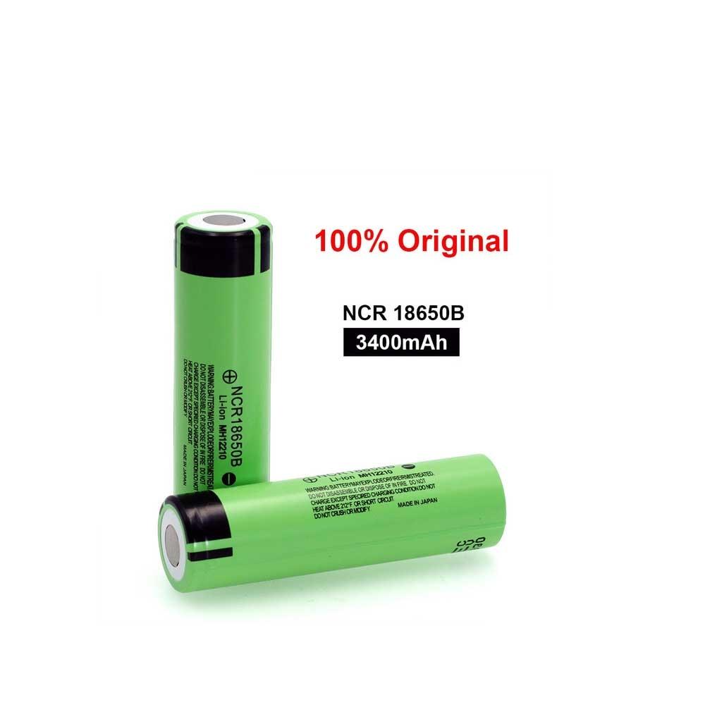 100% neue Original NCR18650B 3,7 v 3400 mah 18650 wiederaufladbare lithium-batterie für taschenlampe batterien (Mit schutz bord)