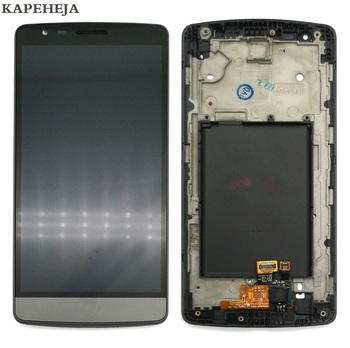 5.0 For LG G3 Mini G3S D722 D724 LCD Display Touch Screen Digitizer Assembly with Bezel Frame original 5 5 screen for lg g3 d850 d855 lcd display touch screen digitizer assembly replacement repair parts for lg g3 lcd