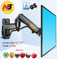 NB F150 2 7kg 100x100 soporte monitor wall mount screen aluminum good gas spring air press 13 27 TV wall bracket holder