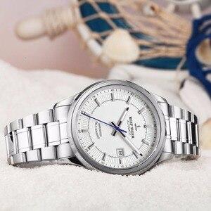 Image 4 - Rafa Tiger/RT biznesmenów najwyższej klasy ekskluzywna sukienka zegarek mechanizm automatyczny mężczyzna RGA8015 316L z litej stali Super świecenia
