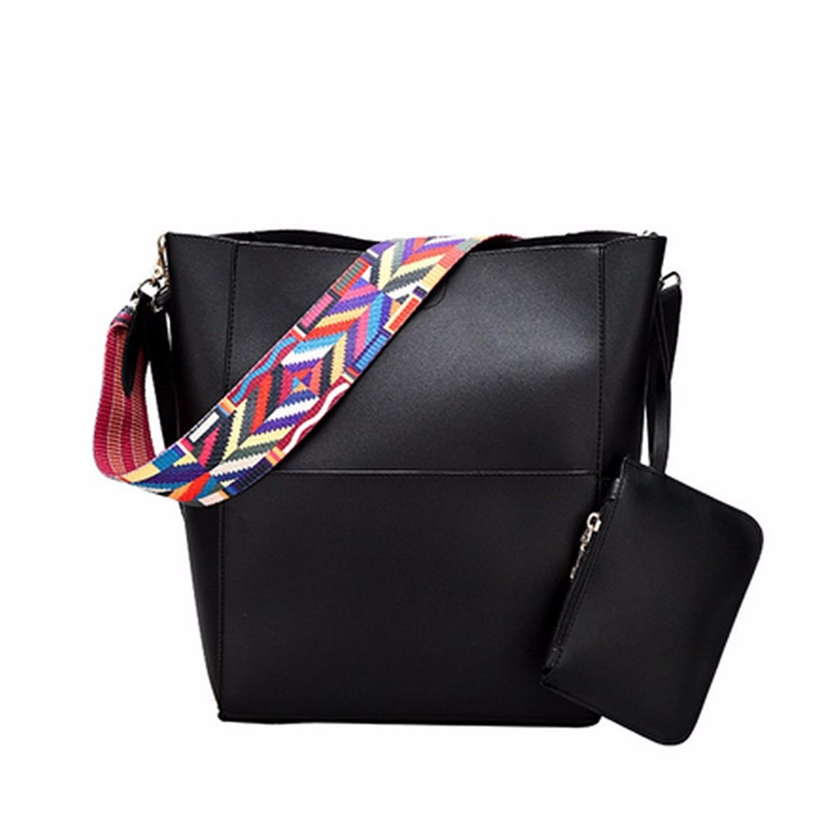 Osmond Lüks Marka Tasarımcısı Kova Çanta Kadın Deri Çanta - Çanta