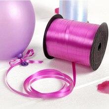 Торговля разнообразие воздушных шаров лента DIY Упаковка для подарков на день рождения лента-лазер вечерние украшения свадебные праздничные аксессуары лента