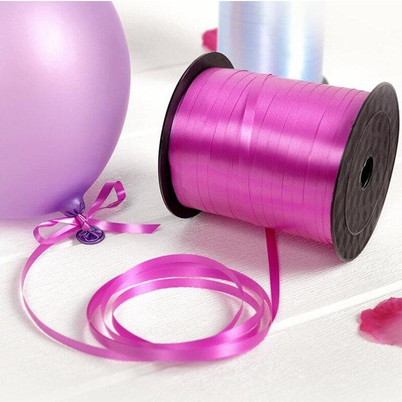 Оптовая продажа, разнообразные ленты для воздушных шаров, лента для упаковки подарков на день рождения, лазер, украшение для вечерние НКИ, а...