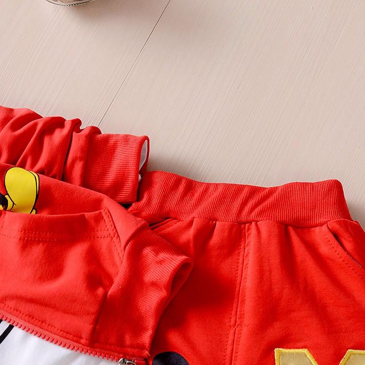 Children-Kids-Cartoon-Donald-Duck-Minnie--Clothes-Suits-Baby-Boys-Girls-Hooded-Jacket-T-Shirt (4)