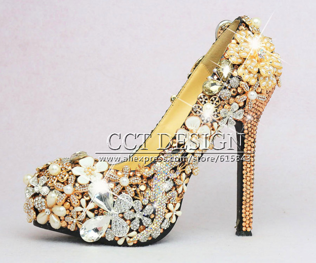 Aliexpress.com : Buy 5inch sexy ladies High Heels Pumps champagne