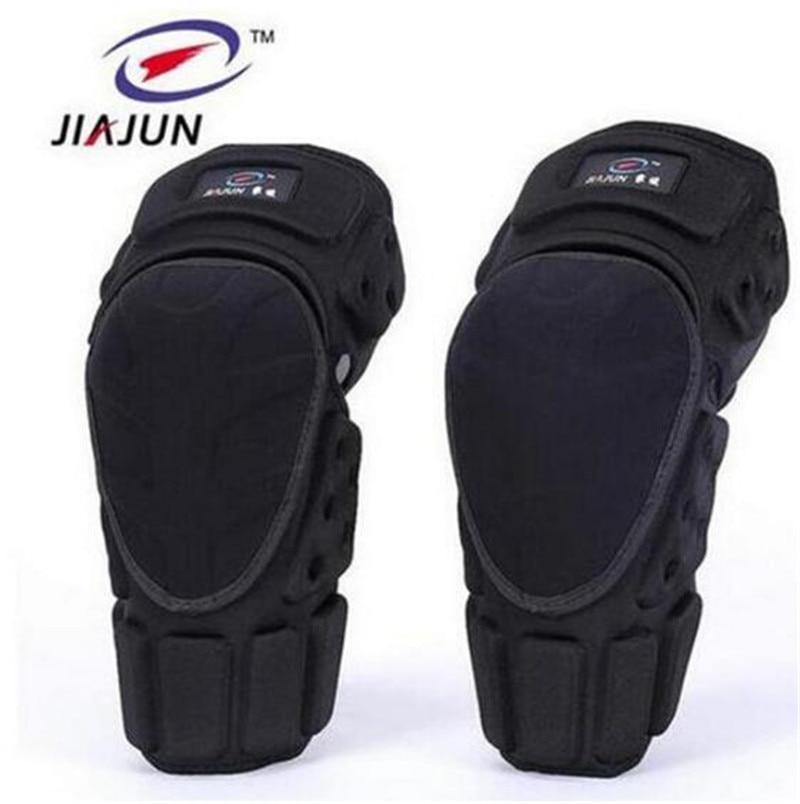 цена на JIAJUN Motorcycle Knee Pads Joelheira Motocross Knee Protector Guard MTB Ski Protective Kneepad Moto Knee Brace Support Gear
