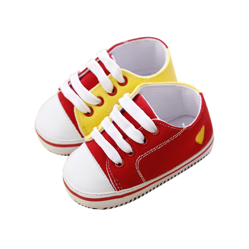 Newborn Baby Shoes Boys Girls Infant First Walkers Spring Autumn Shoes Toddler Sneakers Soft Soled Anti-slip Shoes