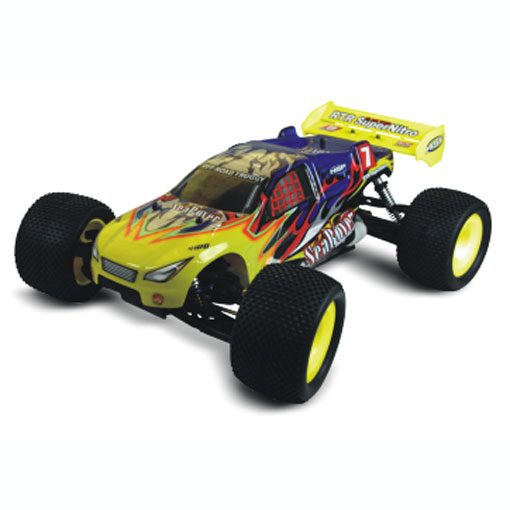 HSP 94085 RTR 1/8 Scale 4WD 21cxp Nitro Engine Off-Road Truggy Searover RC Model Racing Vehicle image