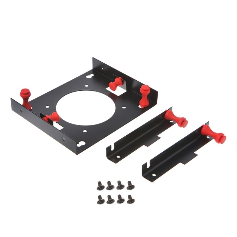 3,5 a 5,25 de la Bahía de disco duro de absorción de choque, soporte de montaje de convertidor Kit-PC amigo